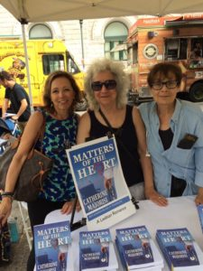 Ann Aptaker, Cathi Stoler, Brooklyn Book Festival
