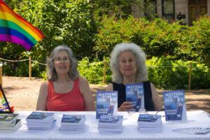 Catherine Maiorisi, Sherry Teitelbaum, RWA-NYC Morris Jumel Book Festival