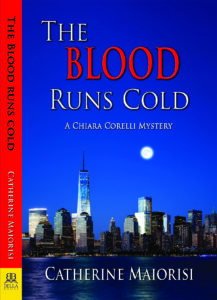 The Blood Runs Cold, Catherine Maiorisi, mystery, NYPD Detective, Chiara Corelli, Karin Slaughter